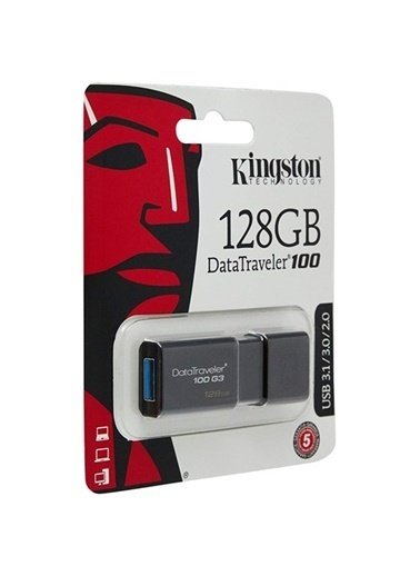 Kingston Kingston 128Gb Usb 3.0 Dt100G3128Gb Usb Renkli